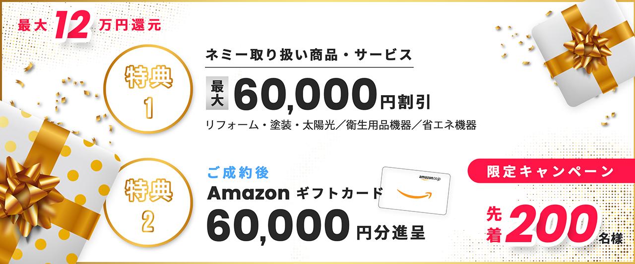 最大12万円還元キャンペーン
